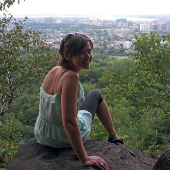 Mount Royal overlooking Montreal, Canada