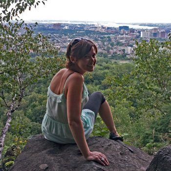 View from Mount Royal, Montreal