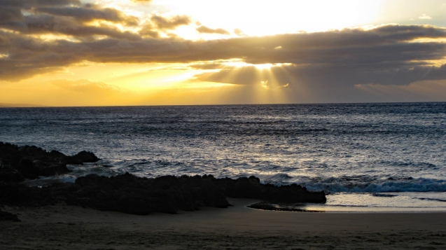 Sunset at Kihei, Maui