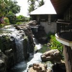 Lush gardens surround the luxury Hotel Wailea in Maui's hills