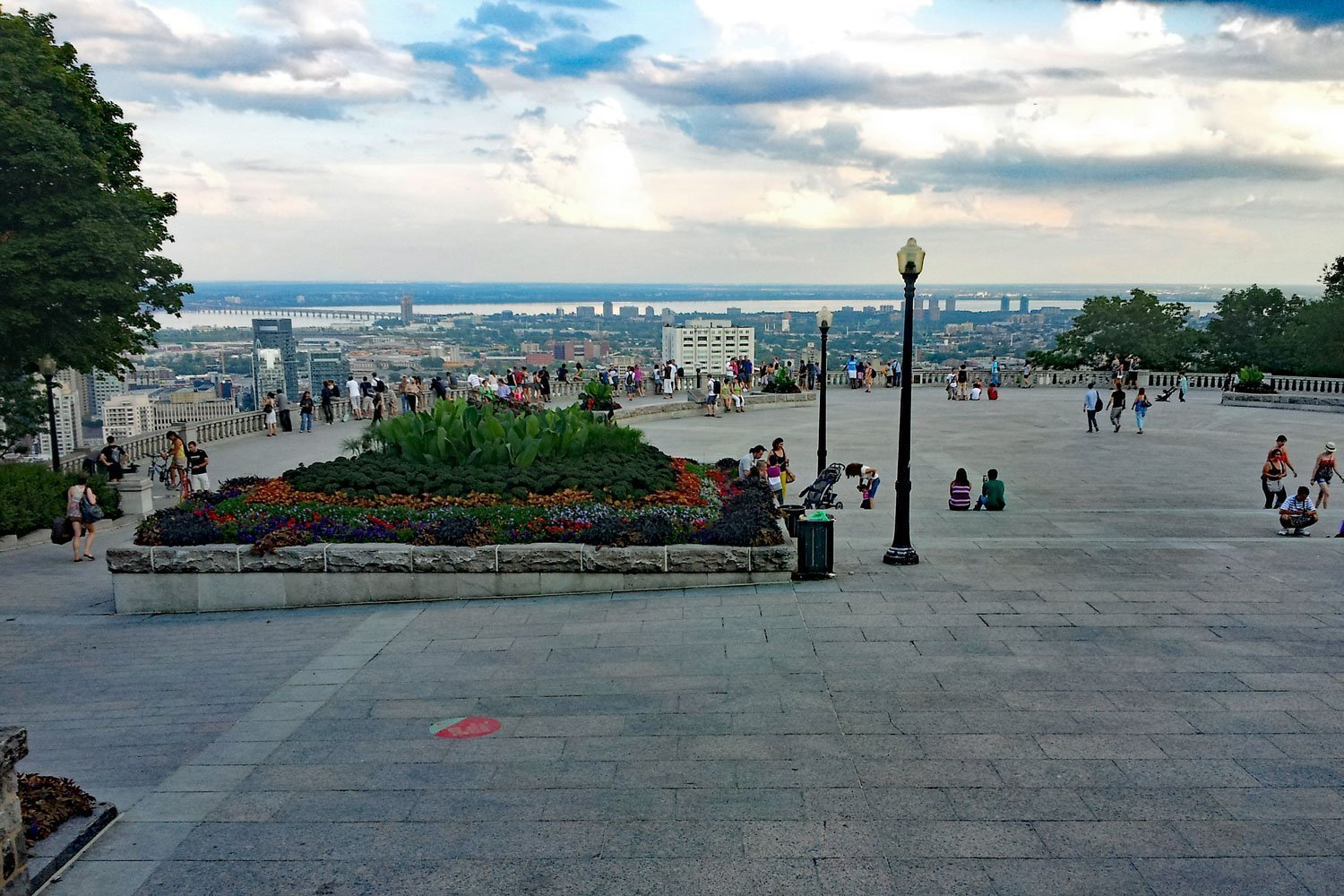 View from Mount Royal on your 5 Day Itinerary