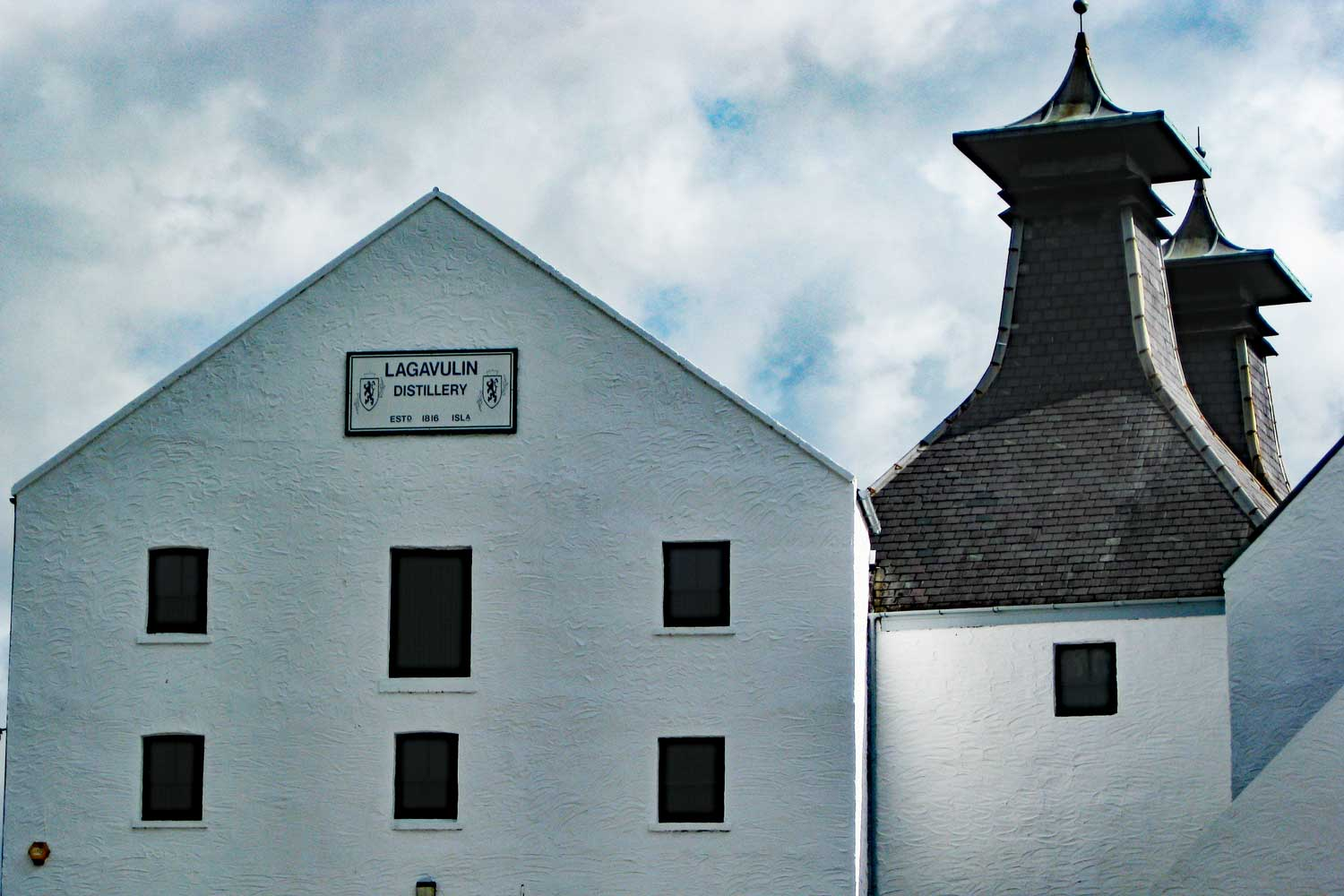 Lagavulin Distillery welcomes visitors to Islay