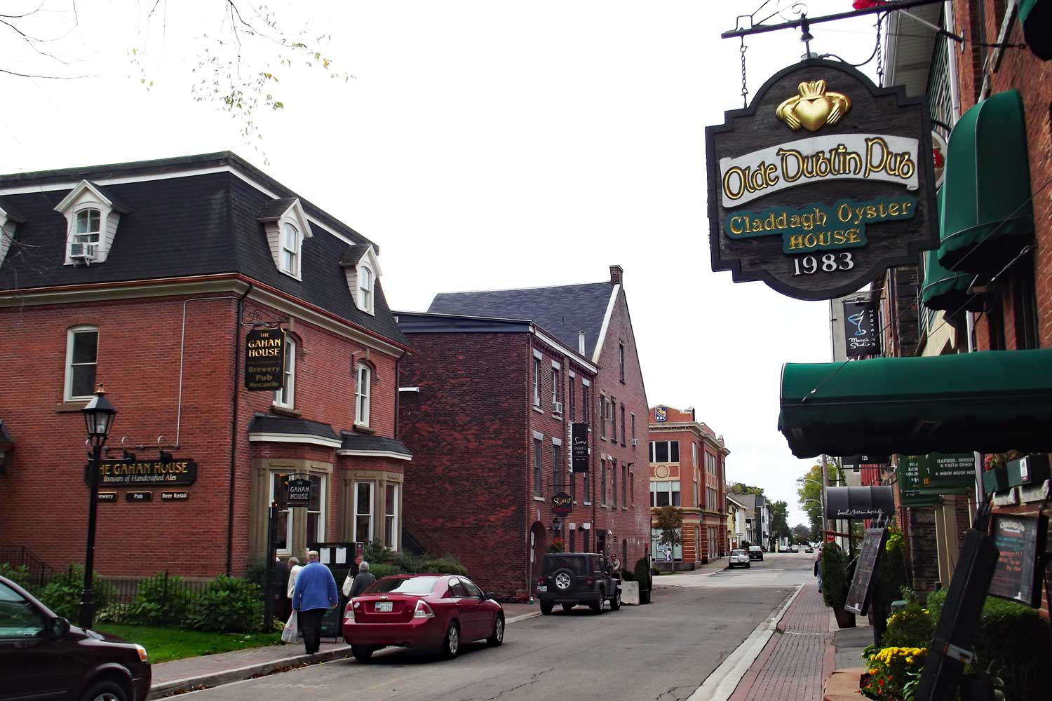 Charming historic streets of Charlottetown, PEI