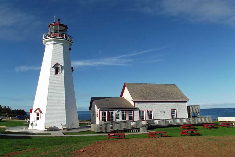 East Point Lighthouse on PEI