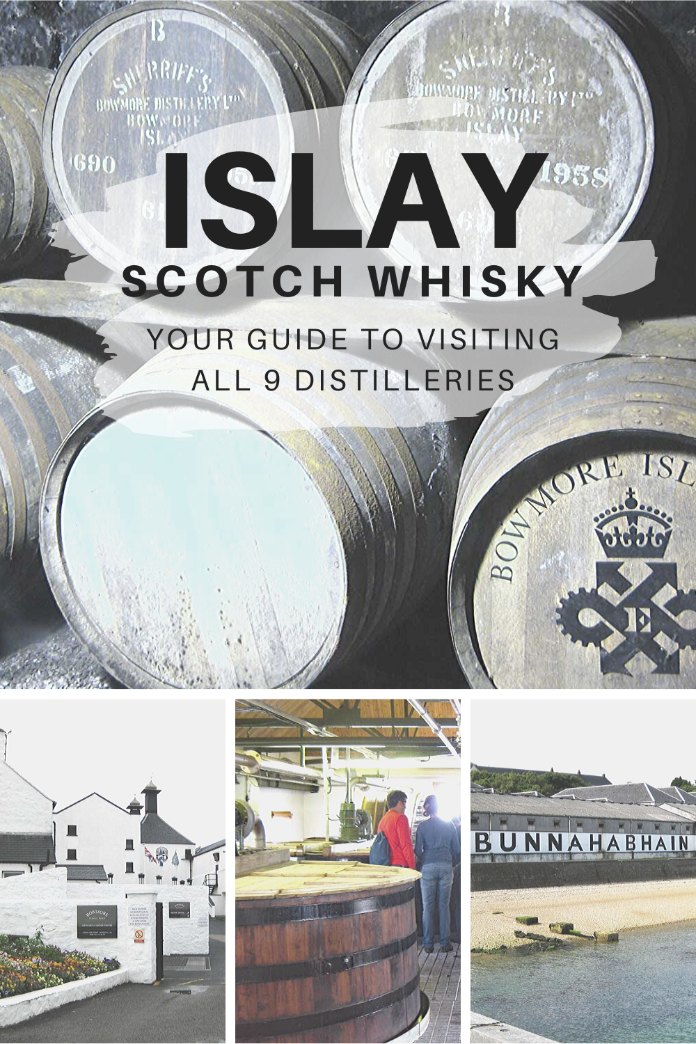 ISLAY Scotch Whisky Distilleries: Visit them all!
