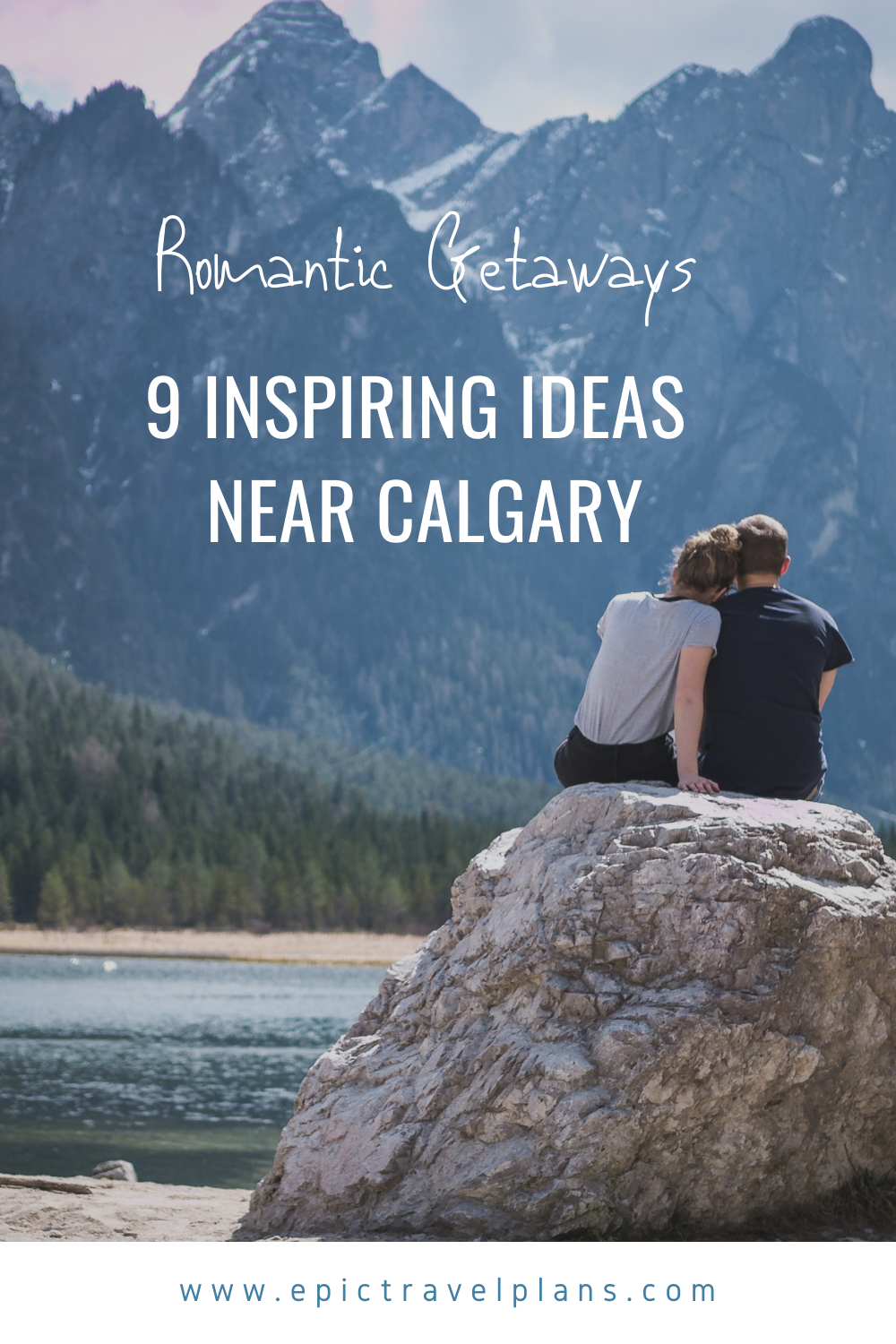 Romantic weekends near Calgary