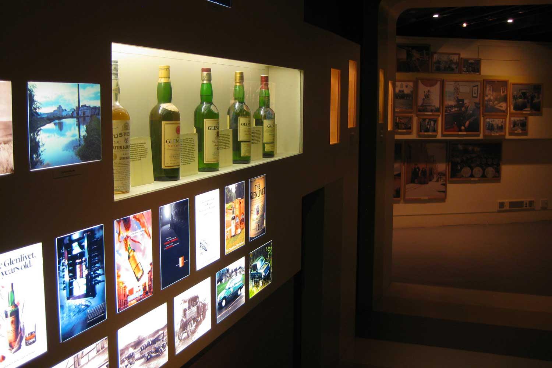 Speyside whisky distillery tours, Glenlivet Distillery visitor center