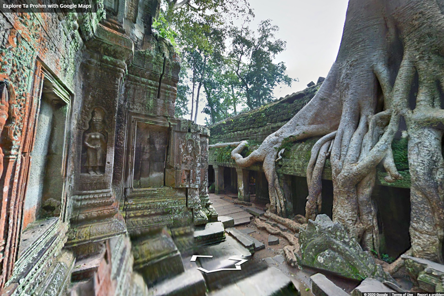 Best virtual tours of historic sites in Asia, Angkor Wat virtual tour in Siem Reap, Cambodia