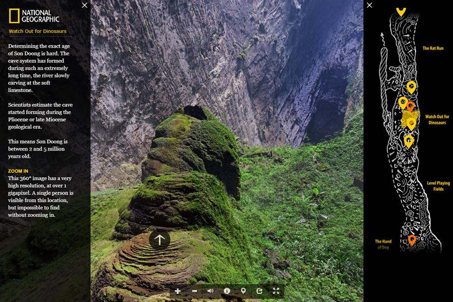 Best virtual tours of national parks in Asia, Hang Son Doong Cave, Phong Nha-Ke Bang National Park virtual tour in Vietnam