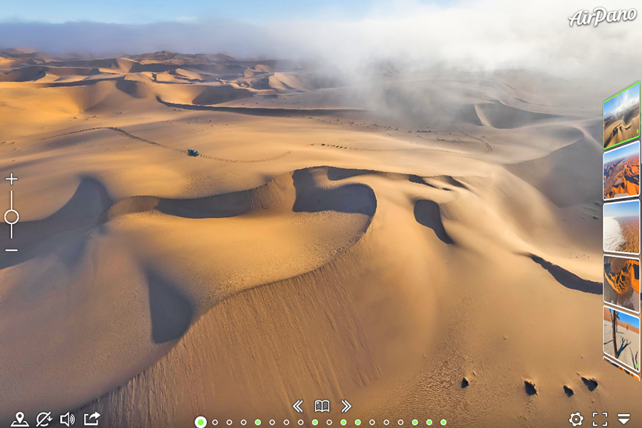 Best virtual tours of national parks in Africa, Namib Desert, Namib-Naukluft National Park virtual tour in Namibia