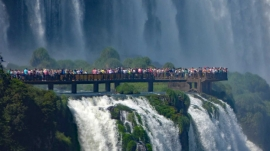 Best virtual tours of waterfalls, including Iguazu Falls in South America