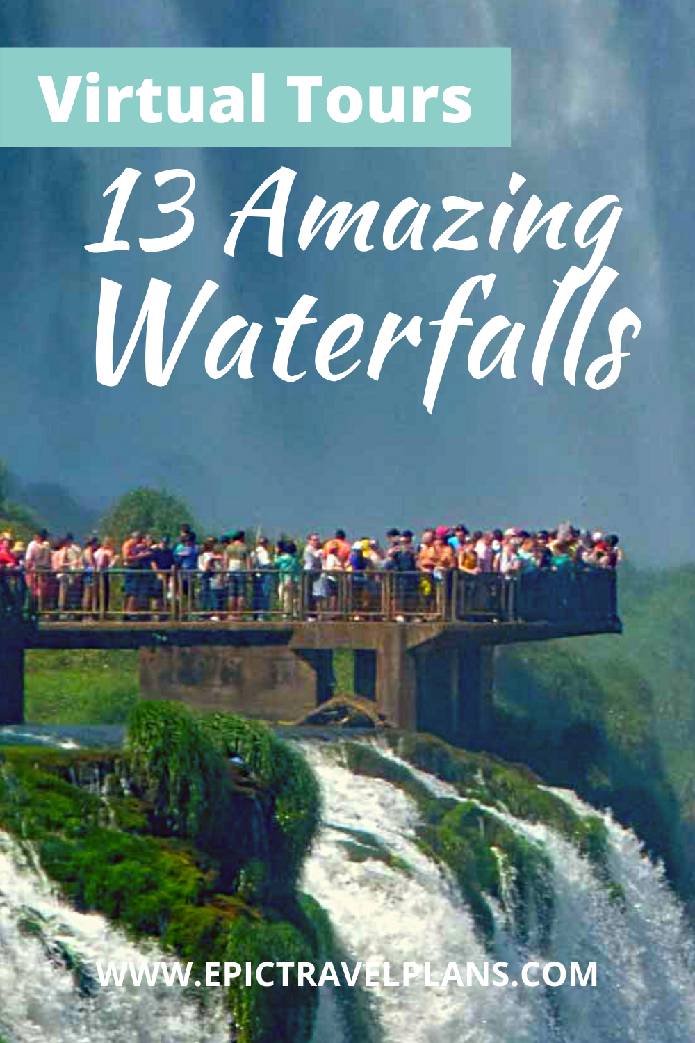 Best virtual tours of waterfalls