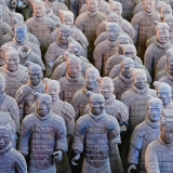 Virtual tour of Xian Warriors in China