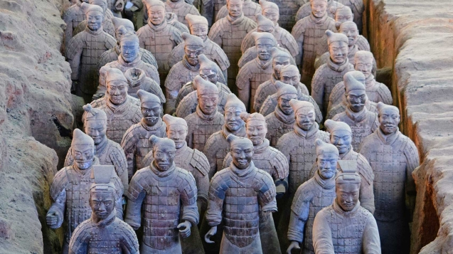 Virtual tour of Xian Warriors in China
