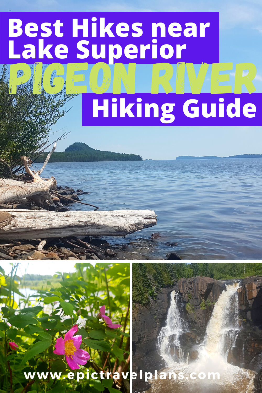Best hiking trails near Lake Superior, Pigeon River Ontario hiking guide, near Minnesota