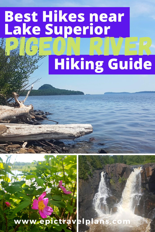 Best hiking trails near Lake Superior, Pigeon River Ontario hiking guide, near Minnesota