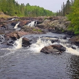 Best hiking trails near Thunder Bay, Cascades waterfall