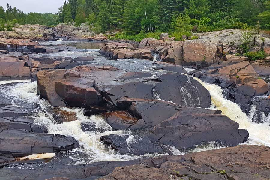 Cascades Conservation Area on Current River, near Thunder Bay Ontario