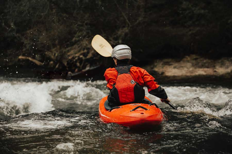 Virtual tour of whitewater kayaking in Britain