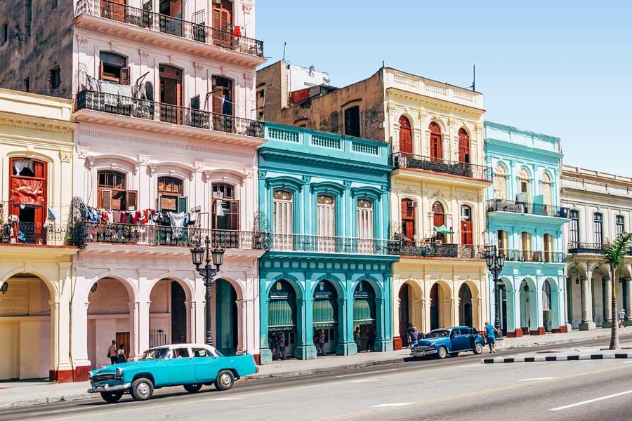 Virtual tour of Havana, city in Cuba