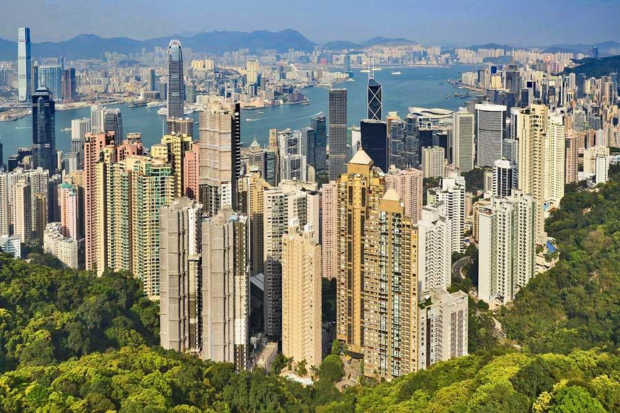 Virtual tour of cities, Hong Kong