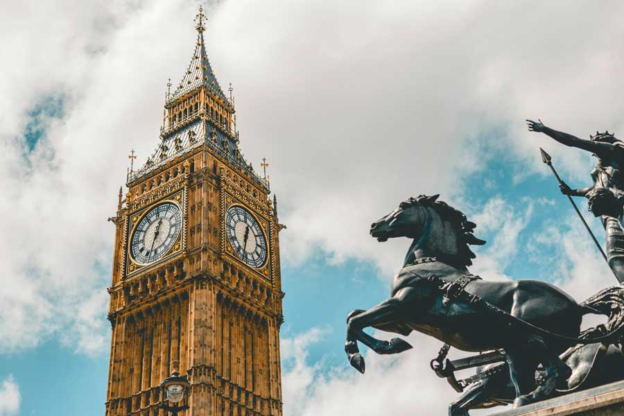 Virtual tour of cities, London England, United Kingdom
