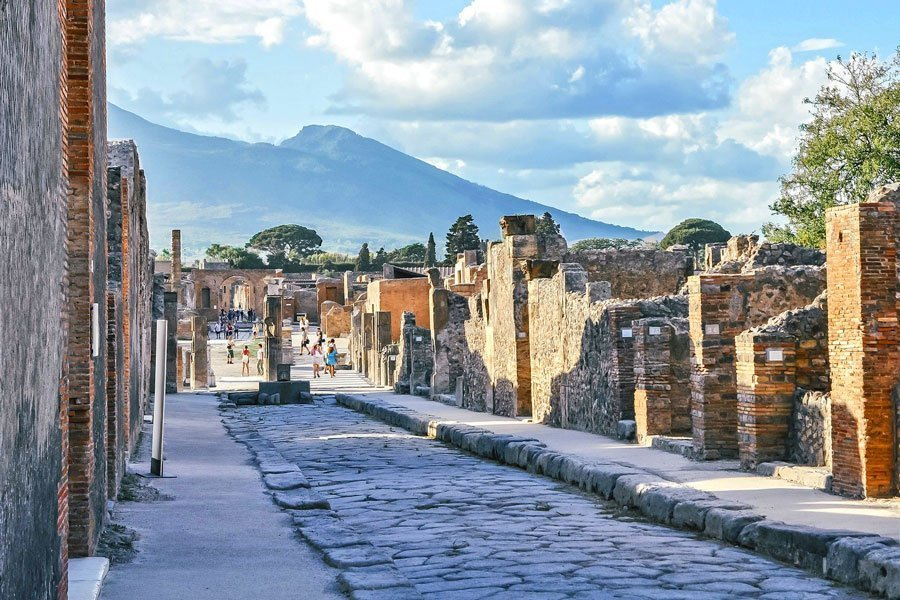 Virtual tour of cities, Ancient ruins of Pompeii