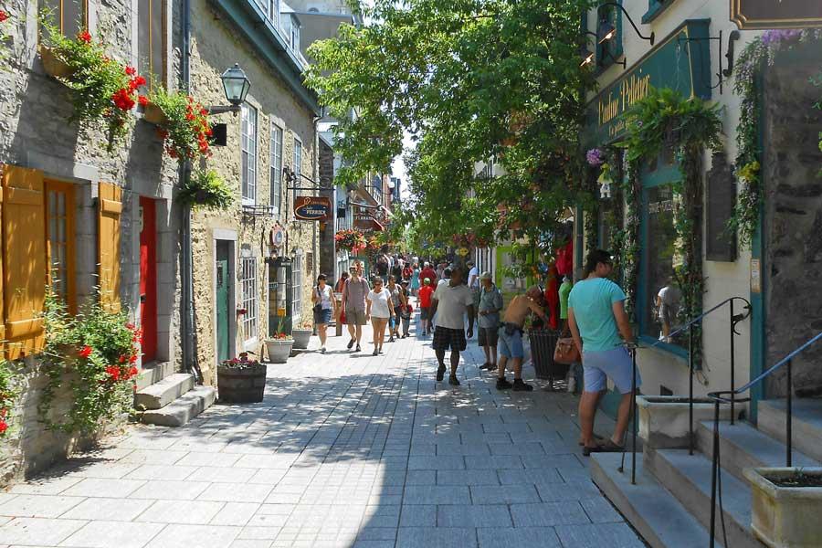 Virtual tour of Quebec City, Canada
