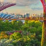 Virtual tour of Singapore, city travel destinations