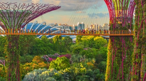 Virtual tour of Singapore, city travel destinations