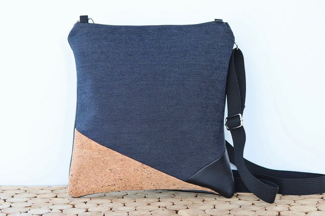 Small crossybody bag, Unique travel daypacks for women, Etsy travel bags, handmade in Canada