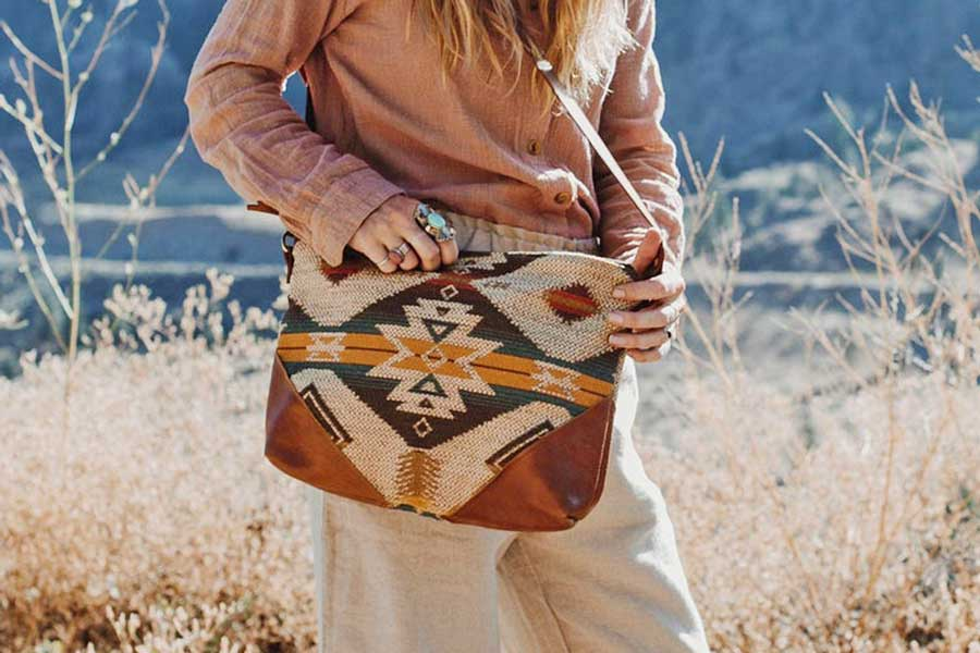 Stylish crossbody bag, Unique travel daypacks for women, Etsy travel bags, handmade in Canada