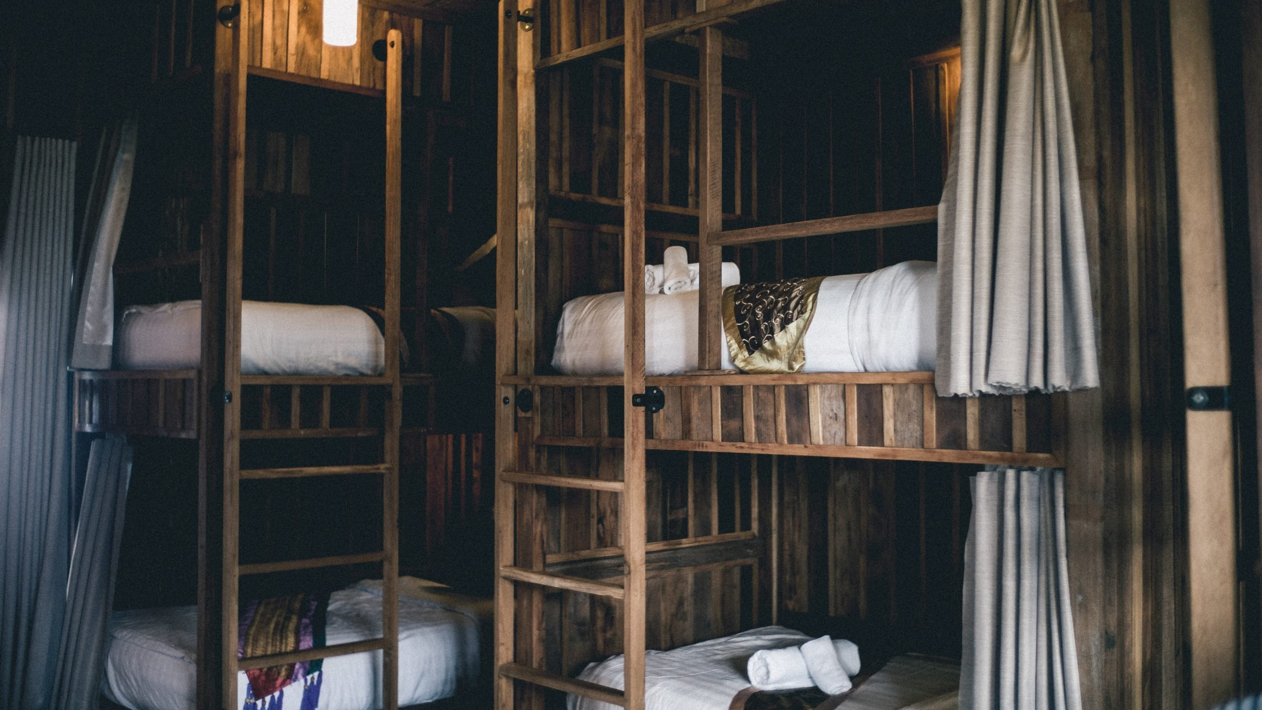 Better accommodations for group travel, trip planning tips, beautiful hostels