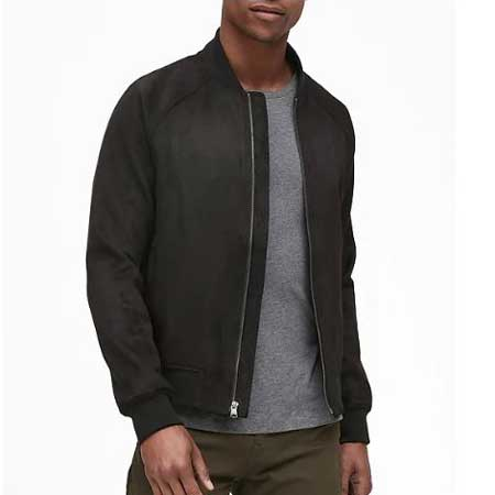 Vegan leather jacket, best gift ideas for men who travel for work
