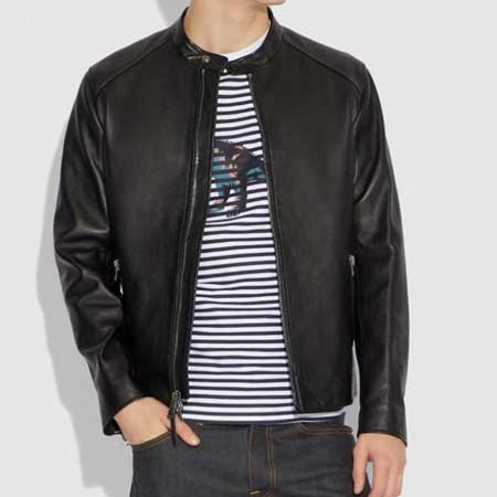 Leather jacket, best gift ideas for men who travel for work