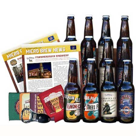 Craft beer tasting, best gift ideas for men who travel for work