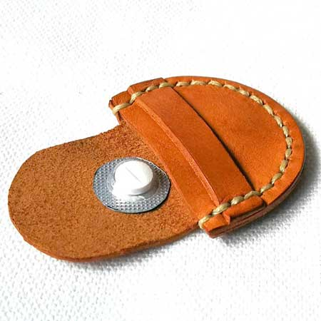 Pocket pill case, business travel gift ideas for him