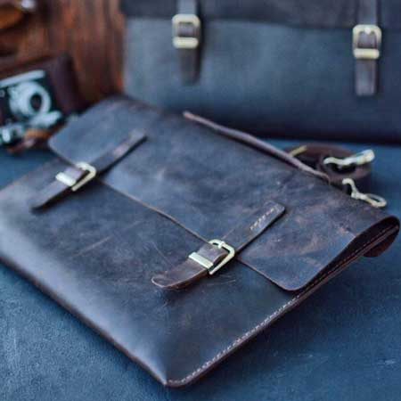 Leather folder, best gift ideas for men who travel for work