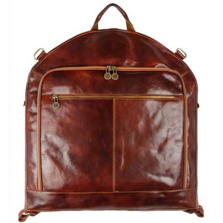 Leather garment bag, best business travel gifts for him