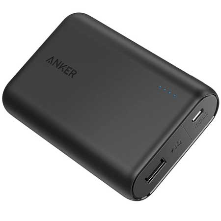 Travel power bank, best gift ideas for men who travel for work