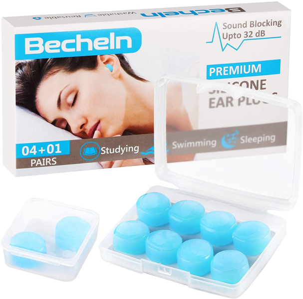 Silicone earplugs, best gift ideas for men who travel for work