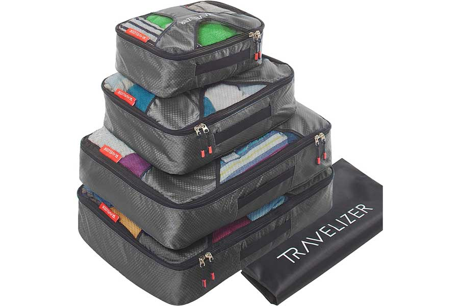 Packing cubes for luggage, best business travel gifts for him