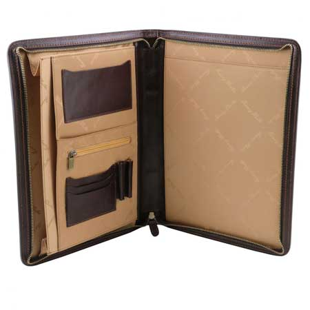Leather portfolio, best gift ideas for men who travel for work