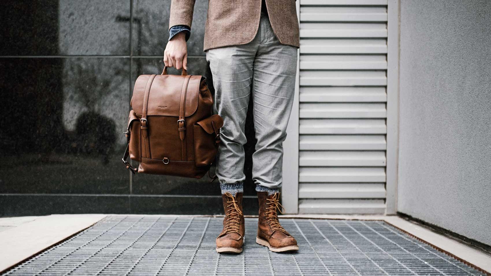 Unique travel daypacks for men
