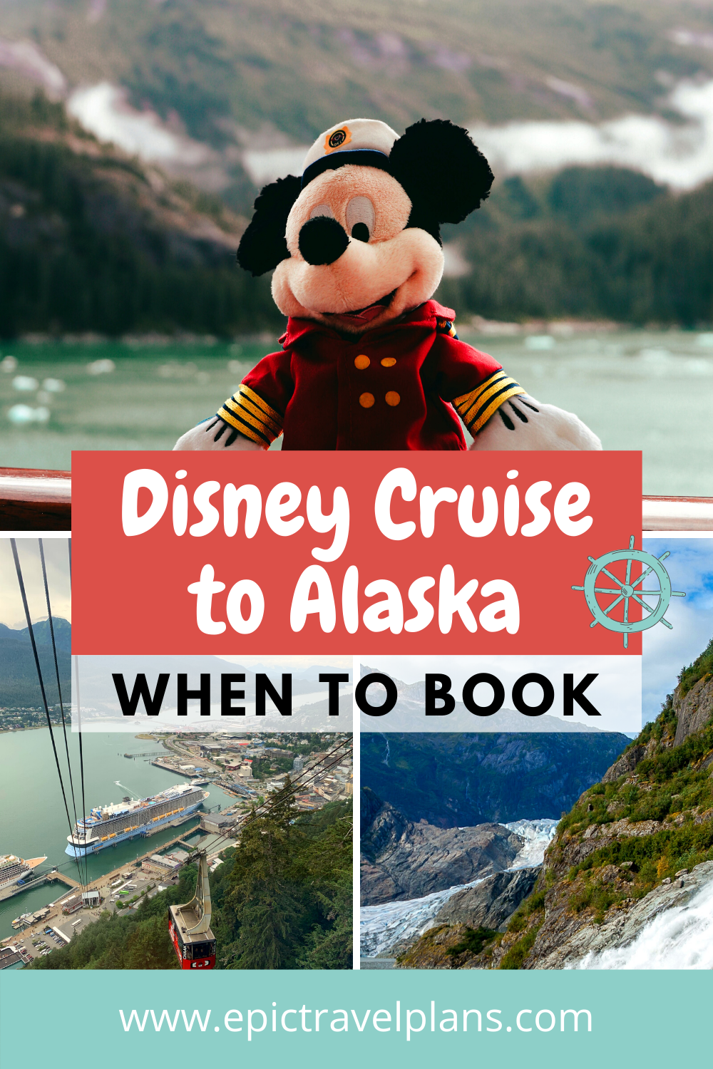 Disney cruise to Alaska, best prices and when to book