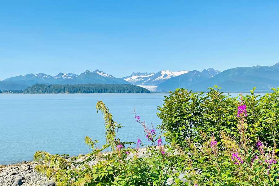 Disney cruise to Alaska, Juneau scenery