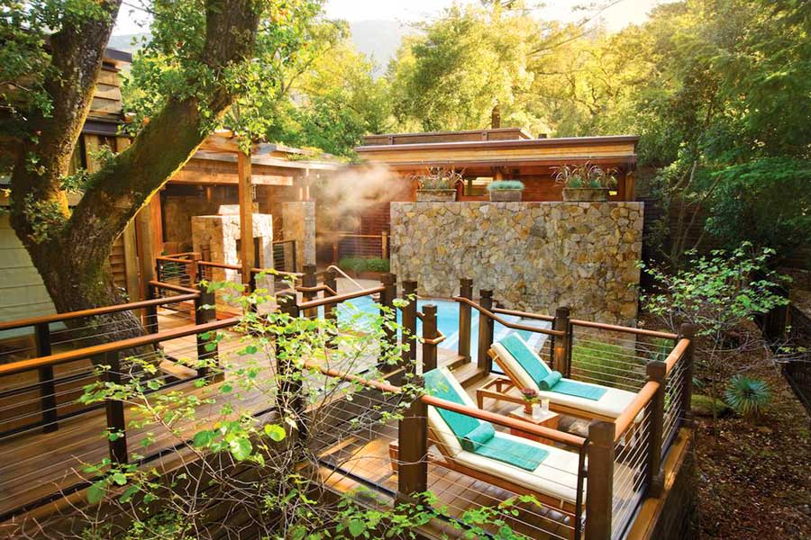 Resort getaway in California, experience gifts for travel lovers, Calistoga Ranch