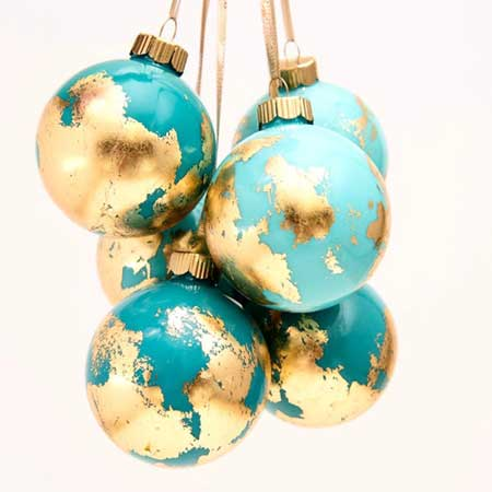 Handmade Christmas ornament, travel gift ideas stocking stuffers, gifts for travel lovers, Etsy HolidayEveryDayArt