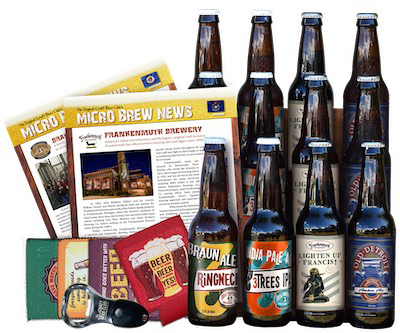 Craft beer club, gifts for travel lovers