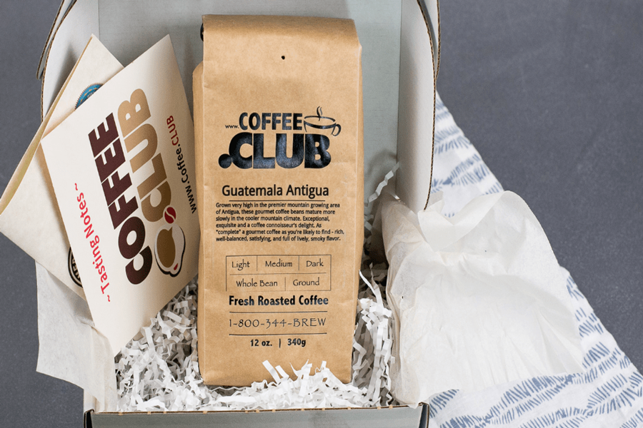 Coffee club, gifts for travel lovers